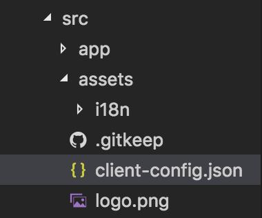client-config.json